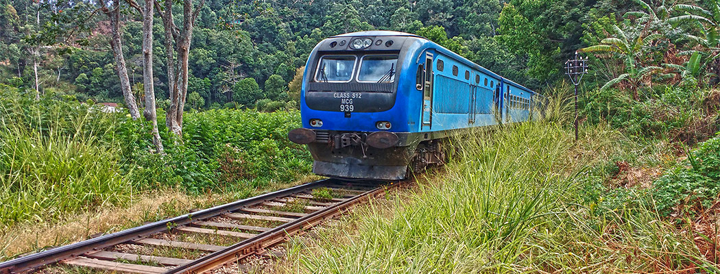 Colombo Badulla rail way